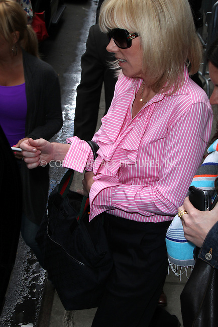 WWW.ACEPIXS.COM . . . . .  ....June 26 2012, New York City....Rielle Hunter leaves Good Morning America on June 26 2012 in New York City....Please byline: Zelig Shaul - ACE PICTURES.... *** ***..Ace Pictures, Inc:  ..Philip Vaughan (212) 243-8787 or (646) 769 0430..e-mail: info@acepixs.com..web: http://www.acepixs.com