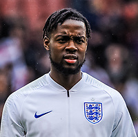 Aston Villa 's (on loan from Tottenham Hotspur)  midfielder Josh Onomah (8) for England U21's during the International Euro U21 Qualification match between England U21 and Ukraine U21 at Bramall Lane, Sheffield, England on 27 March 2018. Photo by Stephen Buckley / PRiME Media Images.