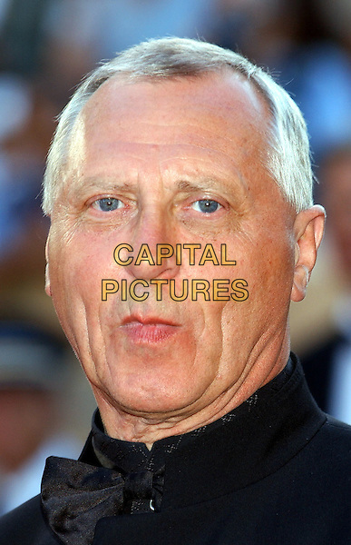 "PETER GREENAWAY.""The Tulse Luper Suitcases, Part 1. The Moab Story"".Cannes Film Festival 2003.www.capitalpictures.com.sales@capitalpictures.com.©Capital Pictures"