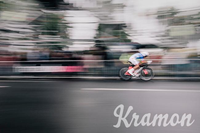 Thibaut Pinot (FRA/FDJ)<br /> <br /> 104th Tour de France 2017<br /> Stage 1 (ITT) - D&uuml;sseldorf &rsaquo; D&uuml;sseldorf (14km)