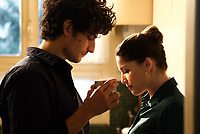 A Faithful Man (2018) <br /> Laetitia Casta and Louis Garrel <br /> *Filmstill - Editorial Use Only*<br /> CAP/MFS<br /> Image supplied by Capital Pictures