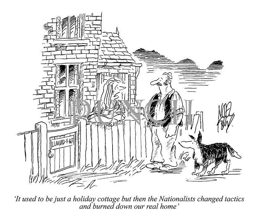 'It used to be just a holiday cottage but then the Nationalists changed tactics and burned down our real home'