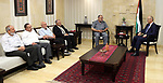Palestinian Prime Minister, Rami Hamdallah, meets with Deputies of the Legislative Council, in the West Bank city of Ramallah, on August 14, 2017. Photo by Prime Minister Office