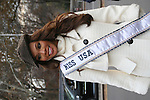 Miss USA - Crystle Stewart at the Macy's Thanksgiving Day Parade on November 27, 2008 in New York City, NY. (Photo by Sue Coflin/Max Photos)