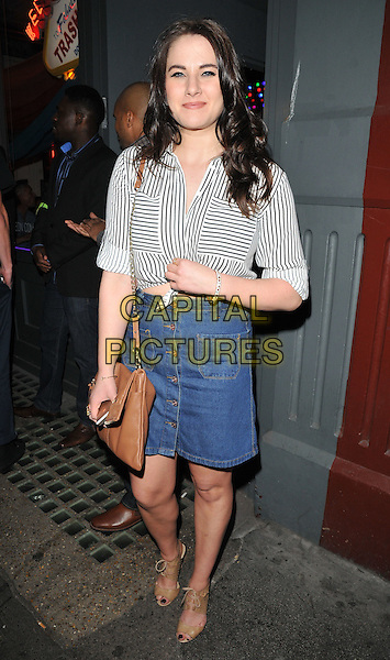 Kat Shoob attends the Professor Green's &quot;Lucky&quot; book launch party, Lights of Soho, Brewer Street, London, England, UK, on Thursday 10 September 2015. <br /> CAP/CAN<br /> &copy;Can Nguyen/Capital Pictures