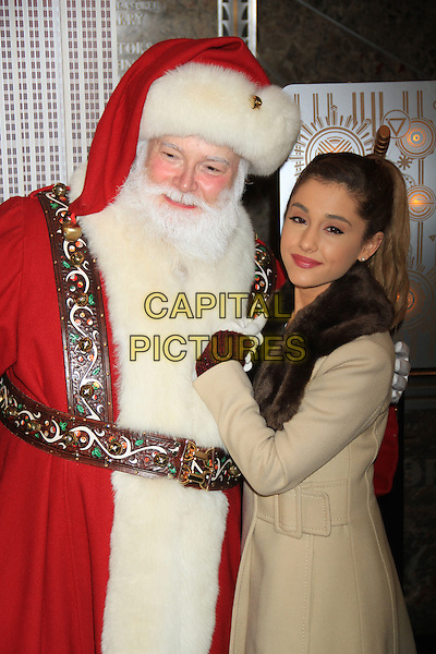 NEW YORK, NY - NOVEMBER 25: Actress/singer Ariana Grande visits The Empire State Building on November 25, 2013 in New York City. <br /> CAP/FB<br /> &copy;FB/Capital Pictures