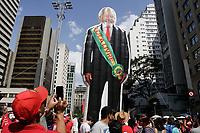 13.10.2019 - Ato justiça para Lula na av Paulista em SP