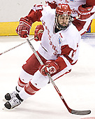 Jake Dowell - The University of Wisconsin Badgers defeated the University of Maine Black Bears 5-2 in their 2006 Frozen Four Semi-Final meeting on Thursday, April 6, 2006, at the Bradley Center in Milwaukee, Wisconsin.  Wisconsin would go on to win the Title on April 8, 2006.