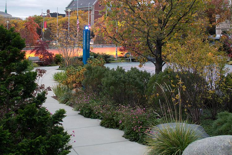 The Mary & Al Schneider Healing Garden at the Seidman Cancer Center   Landscape Architects: Visionscapes Landscape Architects