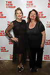 Edie Falco and Aida Turturro during the New Group Annual Gala at Tribeca Rooftop on March 11, 2019 in New York City.