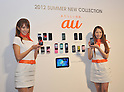 KDDI introduces Mobile Phone Models 2012 Summer