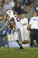1 October 2006: Brandon Harrison during Stanford's 31-0 loss to UCLA at the Rose Bowl in Pasadena, CA.