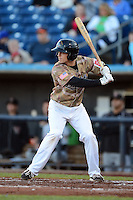 Quad Cities River Bandits second baseman Austin Elkins #6 during a game against the Wisconsin Timber Rattlers on May 24, 2013 at Modern Woodmen Park in Davenport, Iowa.  Quad Cities defeated Wisconsin 4-3  (Mike Janes/Four Seam Images)