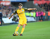 4th November 2017, Liberty Stadium, Swansea, Wales; EPL Premier League football, Swansea City versus Brighton and Hove Albion; Pascal Gross of Brighton crosses the ball as his side attack in the 1st half