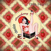 Isabella, MASCULIN, paintings, ITKE043262,#m# ,retro moderno, arte, illustrations, pinturas napkins ,everyday