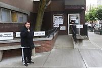HOBOKEN, EUA, 06.06.2017 - ELEIÇÕES-NEW JERSEY - Local de votação é visto nas eleições primárias em Hoboken no Estado de New Jersey nesta terça-feira, 06. A eleição primária em Nova Jersey será realizada na terça-feira, 6 de junho de 2017. As eleições primárias republicanas e democratas incluem candidatos para o governador, senador estadual, assembléia geral, comissário do condado, líder e comitê do estado. A Primária Democrata também inclui a eleição de membros para o Comitê do Condado. Os eleitores registrados e não afiliados podem votar em ambos os primários declarando a filiação do partido nas eleições. (Foto: Vanessa Carvalho/Brazil Photo Press)