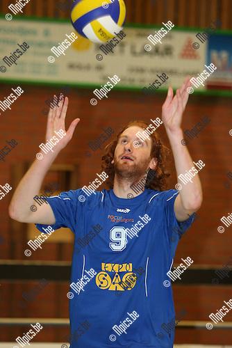 2008-08-30 / Volleybal / Vosselaar / Bas Van Deun..Foto: Maarten Straetemans (SMB)