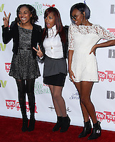 HOLLYWOOD, CA - DECEMBER 01: China Anne McClain, Lauryn McClain, Sierra McClain of the McClain Sisters arriving at the 82nd Annual Hollywood Christmas Parade held at Hollywood Boulevard on December 1, 2013 in Hollywood, California. (Photo by Xavier Collin/Celebrity Monitor)