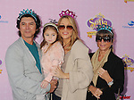 """BURBANK, CA - NOVEMBER 10: Lou Diamond Phillips and family arrive at the Disney Channel's Premiere Party For """"Sofia The First: Once Upon A Princess"""" at the Walt Disney Studios on November 10, 2012 in Burbank, California."""