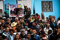 BOGOTA - COLOMBIA, 27-12-2018: Inauguracion del TransMiCable en la localidad de Ciudad Bolivar, al sur de la capital, que mejorara la movidad en este sector. /Inauguration of the TransMiCable in the Ciudad Bolivar location, at the south of the capital, that will improve the molvilty in this sector. Photo: VizzorImage / Nicolas Aleman / Cont.