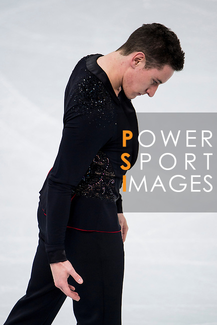 Matthew Parr of Great Britain compete in the Short Program Men during the 2014 Sochi Olympic Winter Games at Iceberg Skating Palace on February 6, 2014 in Sochi, Russia. Photo by Victor Fraile / Power Sport Images