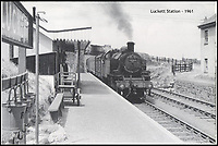 BNPS.co.uk (01202 558833)<br /> Pic: Kivells/BNPS<br /> <br /> Luckett Station in 1961.<br /> <br /> Railway enthusiasts are getting steamy about the prospect of living in this former station master's house - which comes with the old track bed and platform in its back garden.<br /> <br /> Old Luckett Station near Callington, Devon, that is on the market for &pound;700,000, consists of a three bed detached house and an indoor swimming pool and steam room that used to be the ticket office and waiting room.<br /> <br /> Luckett Station served travellers on the old Southern Line from 1908 but was axed as part of the Beeching Cuts in the 1960s.<br /> <br /> The station master's house went into private ownership and each of the occupants has conserved the station instead of tearing it down.