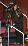 Photographer Kausik Bhakta works during Governor Brian Sandoval's State of the State address, Monday, Jan. 24, 2011, at the Legislature in Carson City, Nev. .Photo by Cathleen Allison