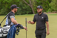 Tyrrell Hatton (ENG) after missing his birdie attempt on 4 during day 4 of the WGC Dell Match Play, at the Austin Country Club, Austin, Texas, USA. 3/30/2019.<br /> Picture: Golffile | Ken Murray<br /> <br /> <br /> All photo usage must carry mandatory copyright credit (© Golffile | Ken Murray)