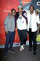 "LOS ANGELES - FEB 2:  Jason Mitchell, Lena Waithe, Ntare Guma Mbaho Mwine at the For Your Consideration Event For ""The Chi"" at the DGA Theater  on February 2, 2018 in Los Angeles, CA"