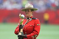 VANCOUVER, CANADÁ, 05.07.2015 - EUA-JAPÃO - Trofeu  da Copa do Mundo de Futebol Feminino no Estádio BC Place em Vancouver  no Canadá neste domingo, 05. (Foto: Vanessa Carvalho/Brazil Photo Press)