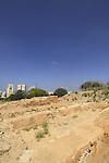 Israel, Tel Aviv, excavations of Tel Qasile