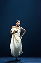 """Ballet Black presents a double bill of """"The Suit"""", choreographed by Cathy Marston, and """"A Dream Within A Midsummer Night's Dream"""", choreographed by Arthur Pita, in the Barbican theatre. Shown here is: """"The Suit"""". Picture shows: Cira Robinson (Matilda)."""