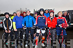 Taking part in the Michael Curran Injury Fund Cycle from the Community Centre in Waterville on the 28th December were l-r; Par O'Connor, Michael O'Donoghue, Tony Curran, Seamuws Lynch, John O'Connor, Sinead O'Connor, Shane O'Connor, Sean Curran, Aine O'Connor, Lorraine O'Connor & Seamus O'Connor.