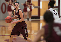 NWA Democrat-Gazette/J.T. WAMPLER  Siloam Springs' Abby Cox plays against Springdale Tuesday Jan. 5, 2016.
