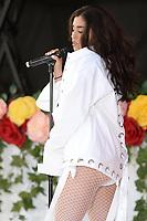 www.acepixs.com<br /> June 9, 2017 New York City<br /> <br /> Lauren Jauregui performing on NBC's 'Today' at Rockefeller Plaza on June 9, 2017 in New York City. <br /> <br /> Credit: Kristin Callahan/ACE Pictures<br /> <br /> Tel: (646) 769 0430<br /> e-mail: info@acepixs.com
