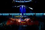 24.02.2019, SAP Arena, Mannheim<br /> Volleyball, DVV-Pokal Finale, Siegerehrung<br /> <br /> Hymne - aufgenommen mit der Remote Kamera<br /> <br />   Foto © nordphoto / Kurth