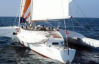 Première Route du Rhum, 1978. Rogue Wave, skipper Philip S. Weld, arrivé 3e.