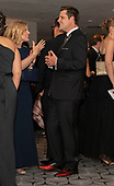 United States Representative Matt Gaetz (Republican of Florida), right, in conversation with an unidentified person as he attends the 2019 White House Correspondents Association Annual Dinner at the Washington Hilton Hotel on Saturday, April 27, 2019.  Gaetz is wearing red shoes.<br /> Credit: Ron Sachs / CNP<br /> <br /> (RESTRICTION: NO New York or New Jersey Newspapers or newspapers within a 75 mile radius of New York City)
