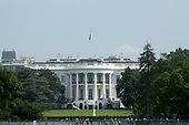 The White House on Independence Day in Washington D.C.<br /> <br /> Credit: Stefani Reynolds / CNP