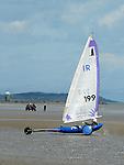 Sandyachting on bettystown beach. Photo:Colin Bell/pressphotos.ie