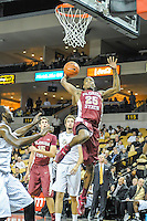 November 13, 2013 - Orlando, FL, U.S: FSU guard Aaron Thomas (25) drives for a layup during 1st half mens NCAA basketball game action between the Florida State Seminoles and the UCF Knights at the CFE Arena in Orlando, Fl.