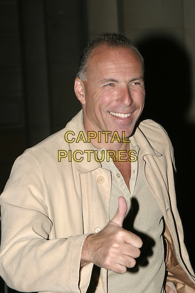 RONNIE ROSENTILE?.Attends the Sport Against Addiction & FIFA 100 Party, Royal Academy of Arts, London, .1st September 2004..half length thumb up gesture.Ref: AH.www.capitalpictures.com.sales@capitalpictures.com.©Capital Pictures.