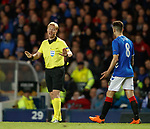 25.10.18 Rangers v Spartak Moscow: referee Kevin Blom