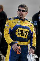 May 4, 2007; Richmond, VA, USA; Nascar Nextel Cup Series driver Jeff Green (66) during qualifying for the Jim Stewart 400 at Richmond International Raceway. Mandatory Credit: Mark J. Rebilas