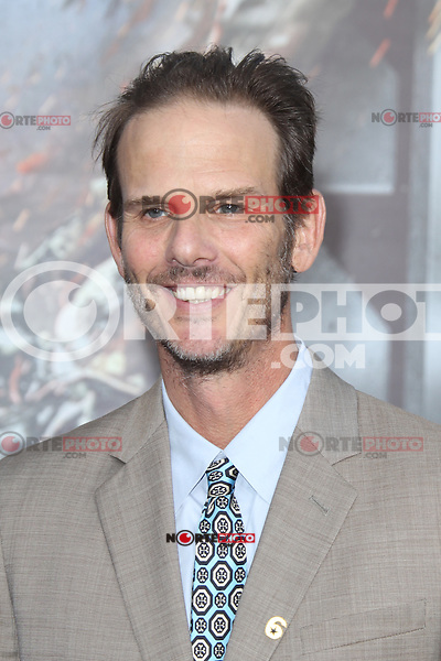 Peter Berg at the film premiere of 'Battleship,' at the NOKIA Theatre at L.A. LIVE in Los Angeles, California. May, 10, 2012. © mpi20/MediaPunch Inc.