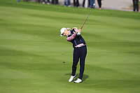 Charley Hull of Team Europe on the 7th fairway during Day 2 Foursomes at the Solheim Cup 2019, Gleneagles Golf CLub, Auchterarder, Perthshire, Scotland. 14/09/2019.<br /> Picture Thos Caffrey / Golffile.ie<br /> <br /> All photo usage must carry mandatory copyright credit (© Golffile | Thos Caffrey)
