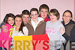 Valentia Youth club comedy sketch at the KDYS Variety show county finals in the Aras Padraig Killarney on Saturday l-r: Mary Clair Lynch, Dannii O'Sullivan, Carol McLoughlin, Denise Curran, Sean Curtin, Katie Curran and Caroline Heffernan
