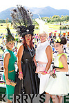 Hats galore by l-r: Mary Herlihy Rathmore, Ann Kahraman Ballyheigue, Olivia Wall Ballyroe and Ann Marie Nelligan Currow at Killarney Races Ladies day on Saturday