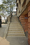 Stone Stairs Leading Up To The Main Entrance On The Side Of The Sanshui (Samshui) Custom House.