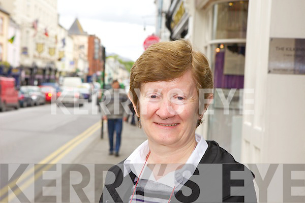 Peg Carroll, Killarney..Killarney has a lot to offer with good parking and nice places to sit down and have a cup of tea.